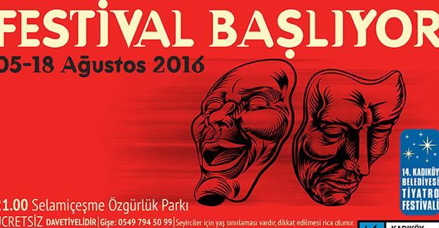 Kadıköy'de tiyatro şenliği