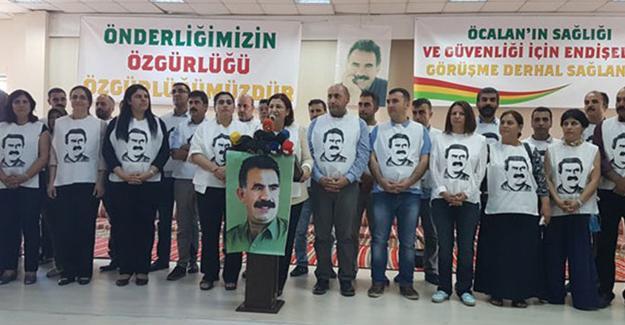 Öcalan için açlık grevine giren 50 isim belirlendi