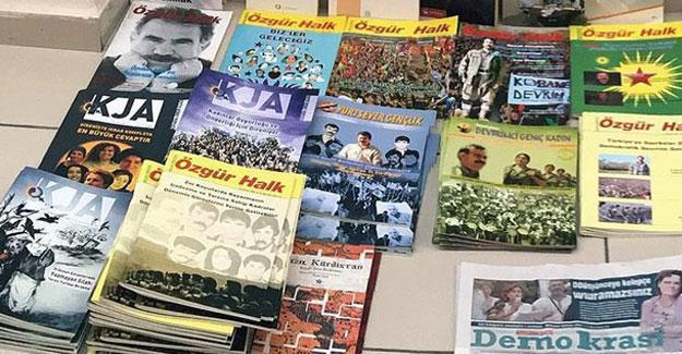 Özgür Halk dergisi bürosuna polis baskını