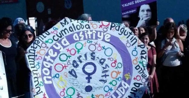 'Özgürlük Nöbeti'ni, Barış için Kadın Girişimi devraldı
