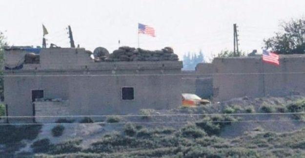Pentagon'dan Tel Abyad'da ABD bayrağı açıklaması