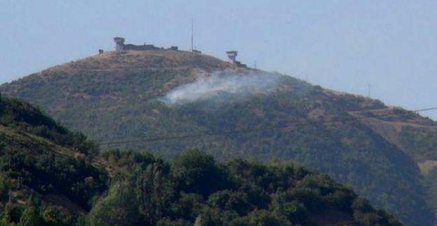 Şemdinli'de askeri üs bölgesine saldırı