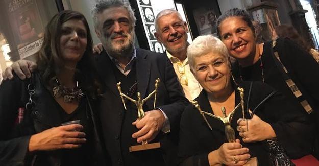 Serra Yılmaz'a İtalya'da 'En İyi Kadın Oyuncu' ödülü