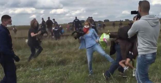 Sığınmacılara çelme atan ırkçı kameraman yargılanacak