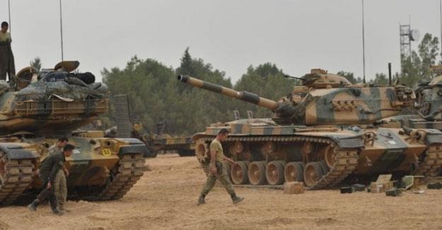 TSK: Azaz-Rai arasındaki operasyona ABD destek verdi