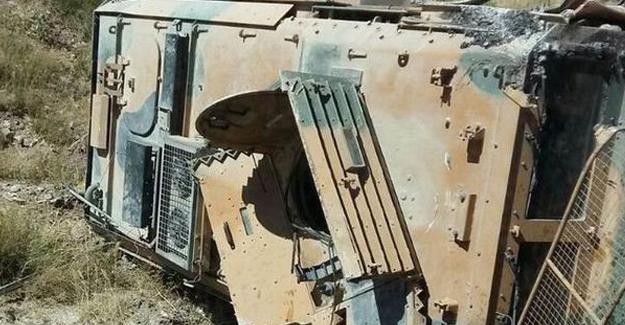 Van'da askeri araç devrildi: 2 asker yaralı