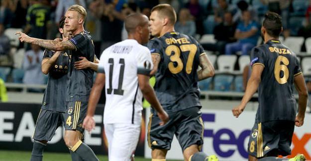 Zorya- Fenerbahçe maçı sona erdi