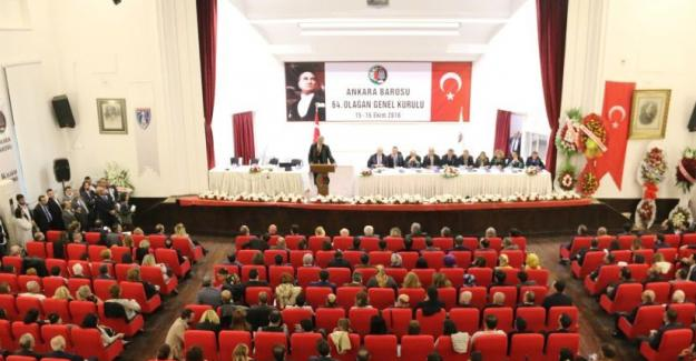Ankara ve İzmir barolarında mevcut yönetimler yeniden seçildi