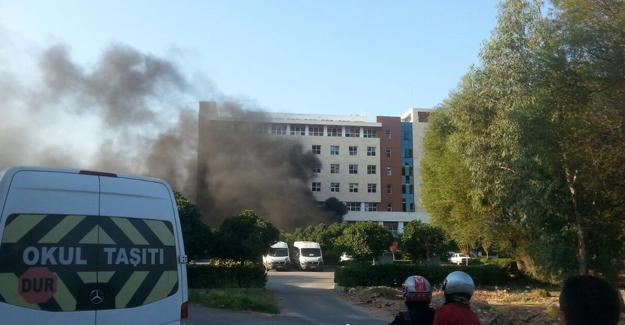 Antalya'da patlama: Yaralılar var