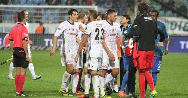 Beşiktaş – Rizespor maçı sona erdi