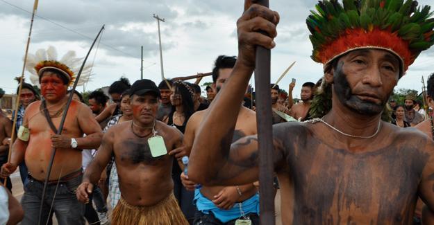 Brezilya'da üç yerli halk yok olma tehdidi altında