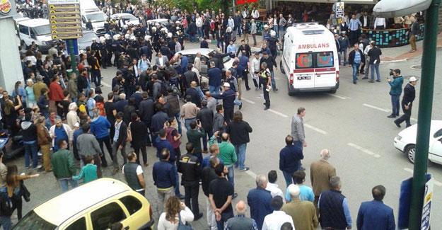 Bursa'da 10 Ekim anmasına polis saldırdı, gözaltılar var