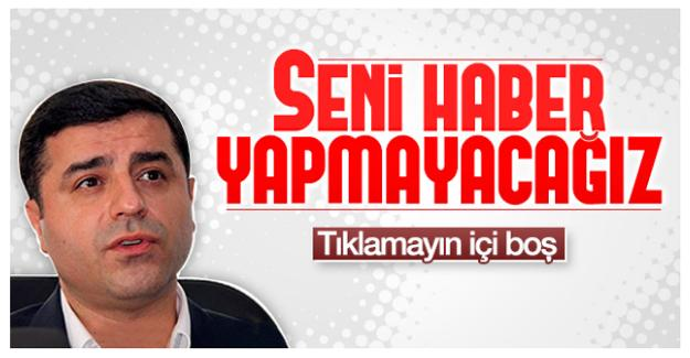 Demirtaş'ın Meclis grup toplantısı konuşmasına 'Ensonhaber'den sansür!