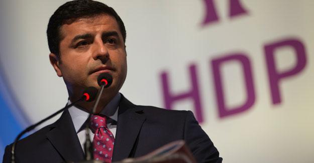 Demirtaş'a 2 yıl hapis istemiyle dava açıldı