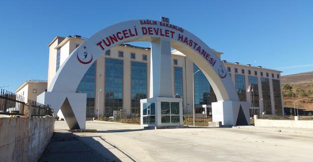 Dersim Devlet Hastanesi'ne 13 gerilla cenazesi getirildi