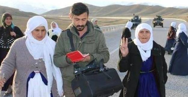 DİHA muhabiri İdris Sayılgan gözaltına alındı