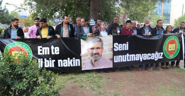 Diyarbakır Barosu'ndan MHP'li avukatın 'Tahir Elçi' sözlerine tepki