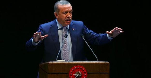 Erdoğan: Burası Çatladıkapı Muhtarlığı değil