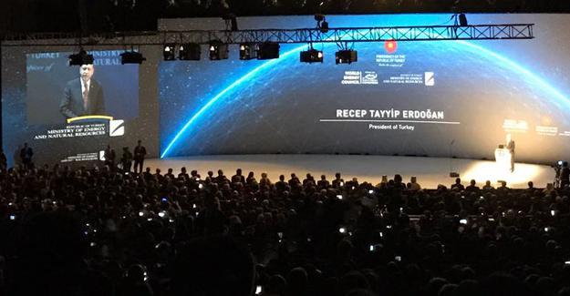 Erdoğan'dan 'enerji hedefi' açıklaması
