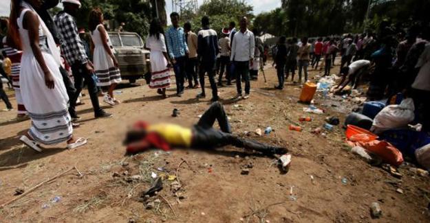 Etiyopya'da hükümet karşıtı gösterilere saldırı: En az 50 kişi yaşamını yitirdi
