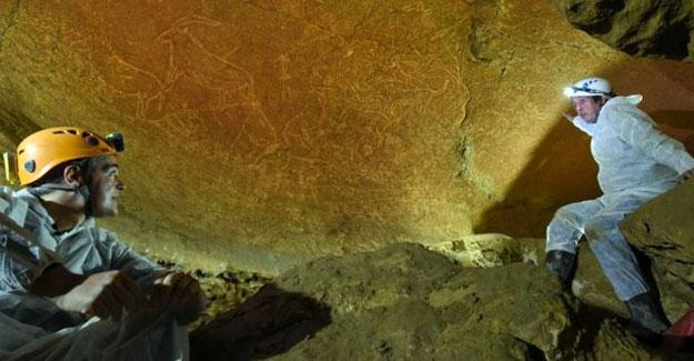 İber Yarımadası'nda 14 bin 500 yıllık mağara çizimleri bulundu