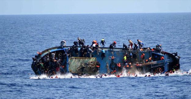 Libya'da göçmen botu battı, 90 kişi hayatını kaybetti
