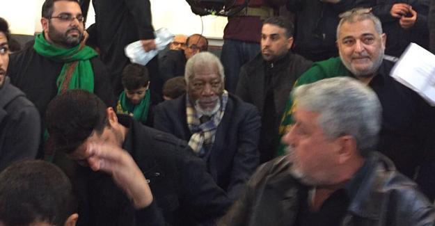 Morgan Freeman aşure duasına katıldı