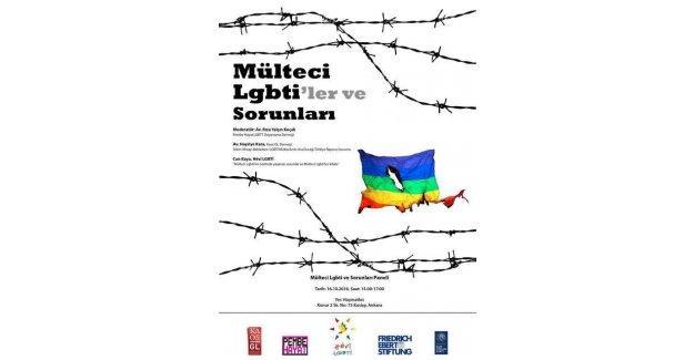 Mülteci LGBTİ'ler ve sorunları Ankara'da da konuşulacak