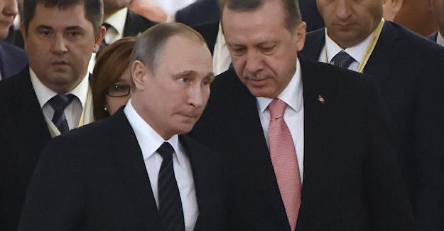 Putin ve Erdoğan'dan telefon görüşmesi
