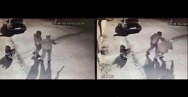 Sokak hayvanlarına mama verilmesini istemeyen adama tasma taktı