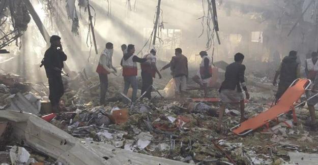 Suudi Arabistan Yemen'de cenazeye hava saldırısı düzenledi