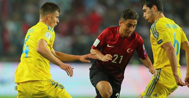 Türkiye-Ukrayna maçı sona erdi