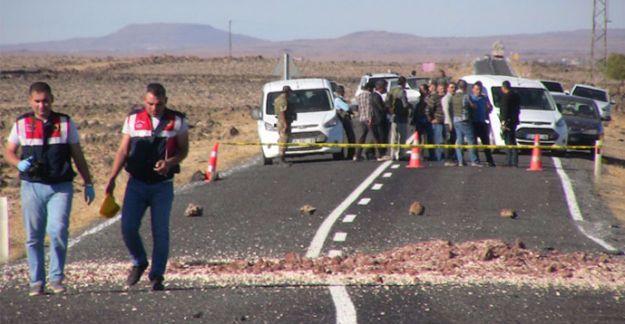 Urfa'da askeri aracın geçişinde patlama