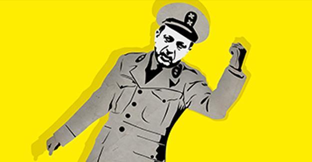 Alman gazetesinden Erdoğan-Goebbels karşılaştırmalı reklam kampanyası