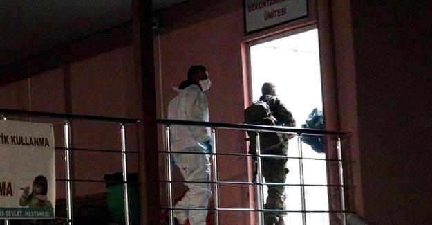 Antep'e getirilen ÖSO üyelerinde kimyasal maddeye rastlanmadı