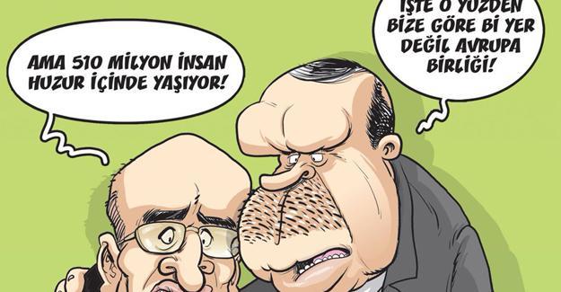 Bakan Şimşek Gırgır'ın kapağında: AB çökmüyor!