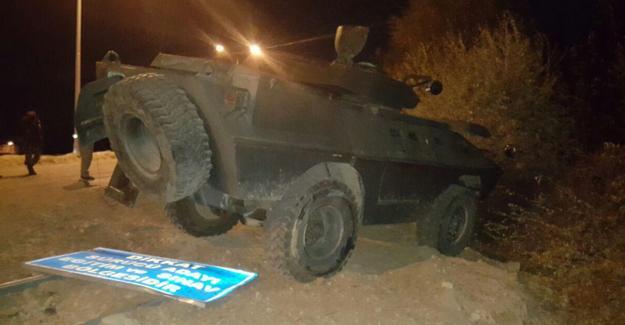 Bingöl'de zırhlı aracın geçişi sırasında patlama