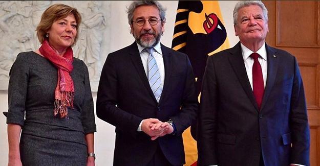 Can Dündar, Almanya Cumhurbaşkanı ile görüştü