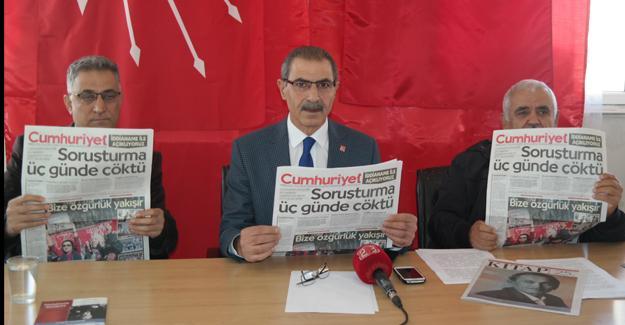 CHP Elazığ Örgütü: Cumhuriyet'i asla yıkamayacaklar