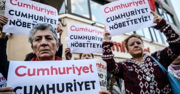 Cumhuriyet gazetesi yöneticilerinin tutukluluğuna itiraza ret