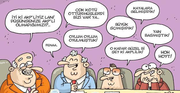 Darbe komisyonu Gırgır'ın kapağında: İyi ki AKP'liyiz lan!