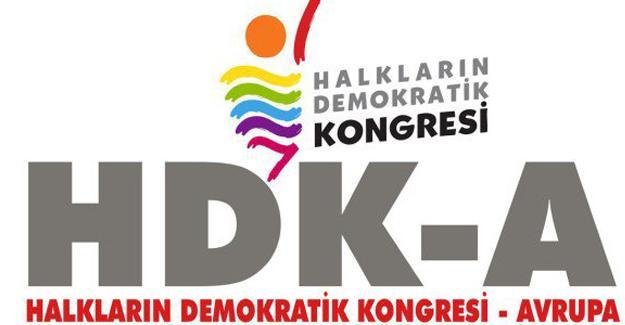 HDK-Avrupa'dan 'Türkiye'de OHAL'i durdur' kampanyası