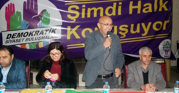 HDP Elazığ'da halk toplantısı gerçekleştirdi