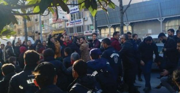 HDP eylemine saldırı
