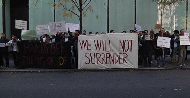 HDP'li vekillerin tutuklanmaları ABD'de protesto edildi