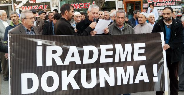 HDP'lilere operasyon Elazığ'da da protesto edildi