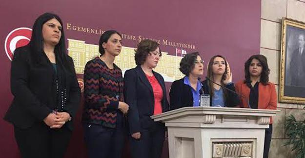 HDP Parlamento Kadın Grubu: Faşizme koşar adım ilerliyoruz