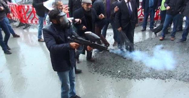 HDP protestosunda polis böyle emir verdi: Kimse silah kullanmaktan çekinmeyecek