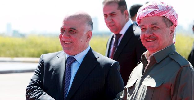 İbadi, Erbil'de Barzani ile buluştu