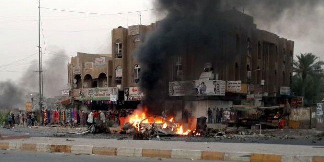 Irak'ta bombalı saldırı; en az 24 kişi öldü